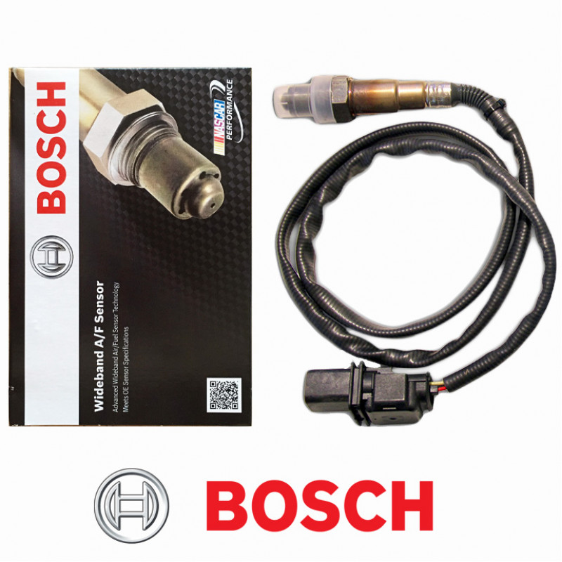 Photo shows the Bosch 17025 4.9 wideband sensor and its box.