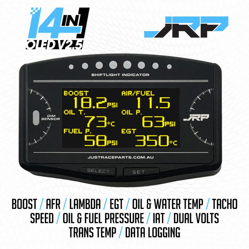 The JRP 14in1 OLED Multi Gauge Display v2.5 Is Here!