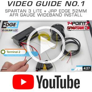 Spartan 3 lite wideband gauge kit, 52mm air fuel ratio gauge & 02 sensor