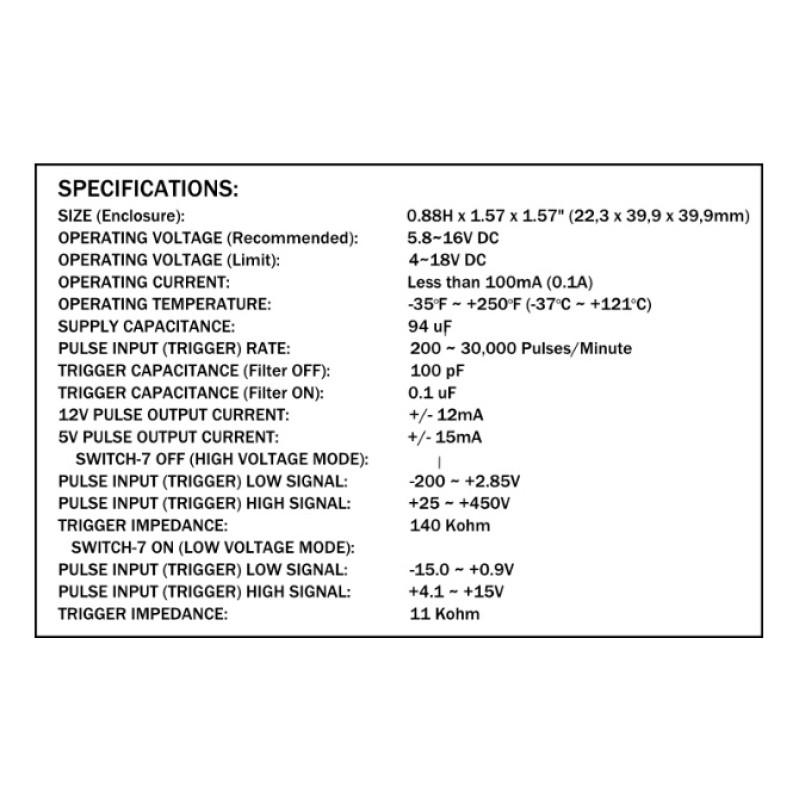 JRP universal tach adapter