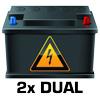 Dual Volts Display