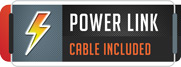 Install requires only one single power link cable