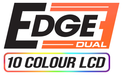 The JRP Edge Dual 52mm 2in1 Turbo Diesel Boost & EGT Gauge Logo