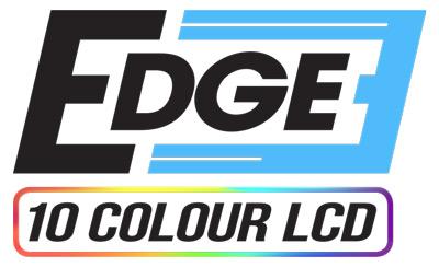The JRP Edge 52mm gauge ranges logo