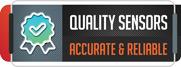 High quality sensors supplied