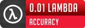 0.01 Lambda Accuracy