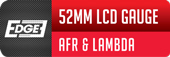 JRP Edge 52mm Air Fuel Ratio Gauge With Lambda