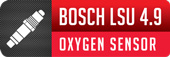 Bosch 4.9 Wideband Sensor Included